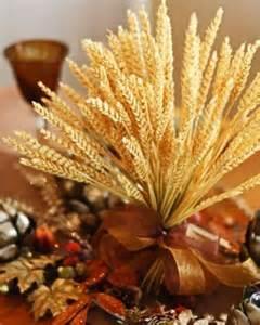 Thanksgiving Wheat Centerpiece