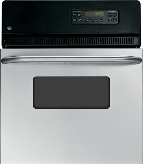 jrpskss ge  electric single  cleaning wall oven stainless steel