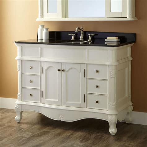 bathroom vanity cabinets with tops 48 quot sedwick creamy white vanity bathroom