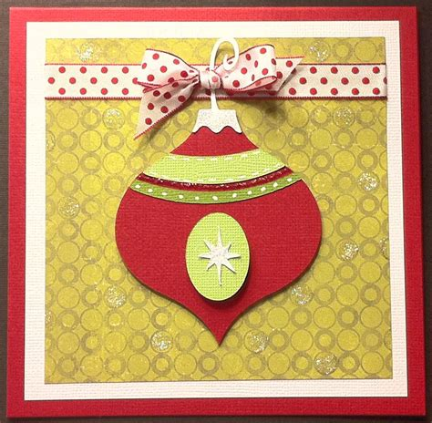 winter frolic christmas ornament cards my sisters scrapper