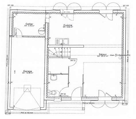 plan maison 4 chambres gratuit plan maison interieur maison cl en ardennes et marne
