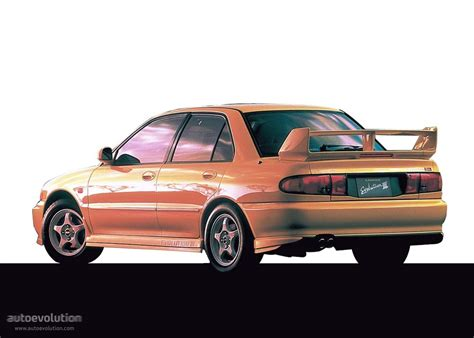 Mitsubishi Lancer Evolution 3 by Mitsubishi Lancer Evolution Iii Specs Photos 1995