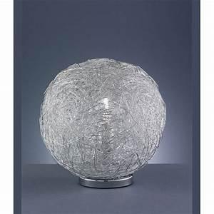 Lampe Boule à Poser : lampe boule metal achat vente lampe boule metal m tal ~ Dailycaller-alerts.com Idées de Décoration