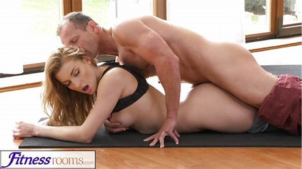 #Fitnessrooms #Yoga #Master #Teaches #Young #Student #Sex