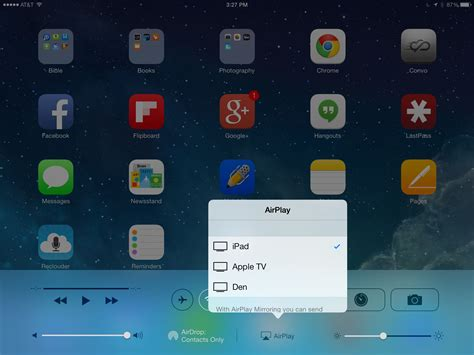 airplay iphone how to use airplay with the iphone and