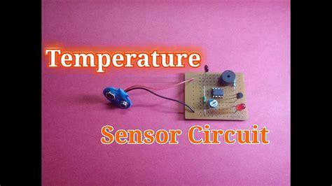 Temperature Sensor Circuit Simple Heat Science