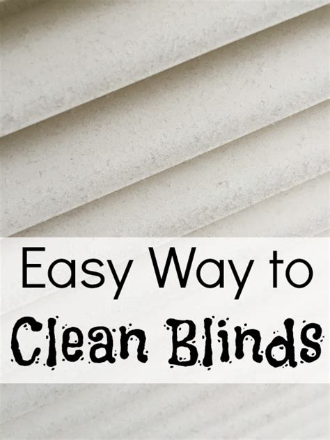 easy way to clean blinds cleaning tip tuesday cleaning blinds lemons lavender