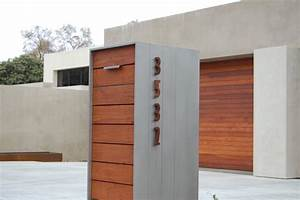 Modern Mailboxes on Wall : A Popular Model of Modern