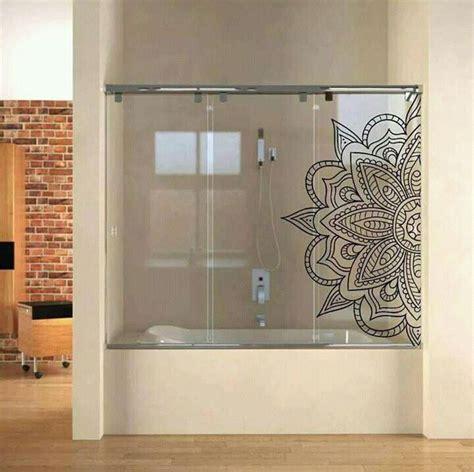 la puerta del bano vinilos  banos ideas de decoracion de banos banos  mamparas