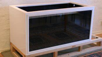 diy fiberglass polyester  plywood aquarium