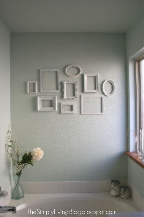Gallery walls aren't limited to framed photos and prints. Simply Living : Simple {and cheap} Gallery Wall
