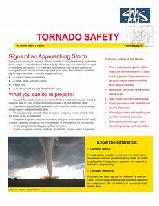 Stay Safe And Know Tornado Safety