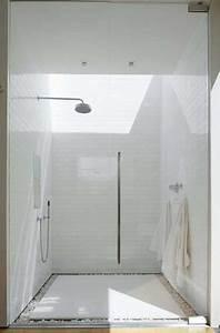 socle galets et receveur antiderapant dans douche a l With porte de douche coulissante avec galet blanc salle de bain