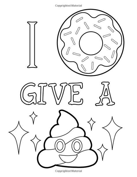 amazon com emoji coloring book of funny stuff cute faces