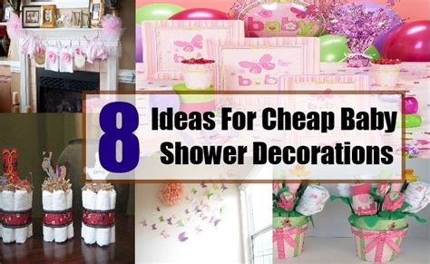 Cheap Decorating Ideas For Baby Shower by Best 25 Cheap Baby Shower Decorations Ideas On