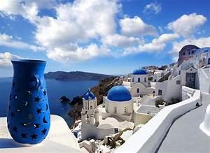 fond ecran hd nature paysage ile santorin grece maisons With site pour plan maison 10 fonds decran 224 telecharger gratuit
