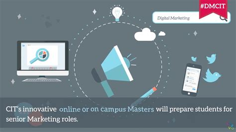 master of science in digital marketing cit master of science in digital marketing strategy