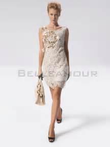 robe de mariã e luxe robe de cocktail luxe dentelle courte chic fleurs
