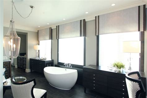 Hamptons Inspired Luxury Home Master Bathroom Robeson