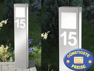 Außenleuchte Mit Hausnummer : au enlampe new design 24 hn aqua paulo mit hausnummer cmd briefkasten ~ Buech-reservation.com Haus und Dekorationen