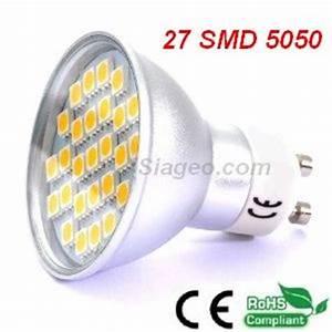 ampoule led siageo ampoule led 220v a 12v spot led With carrelage adhesif salle de bain avec led gu10 10w
