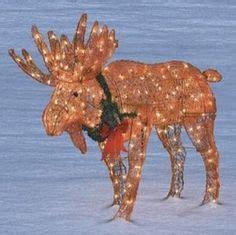 lighted outdoor christmas moose moose decorations outdoor psoriasisguru