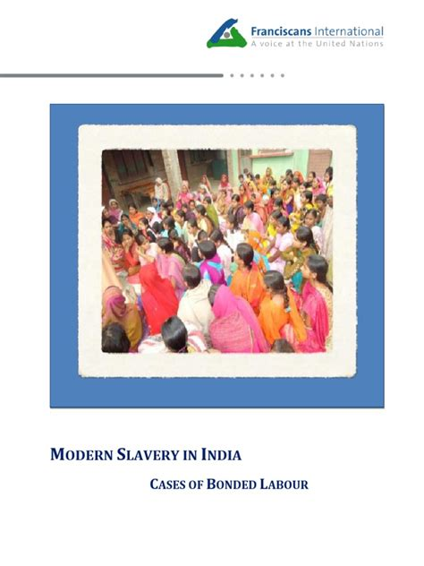 Modern Slavery In India Bonded Labour Cases Final 17 Sept