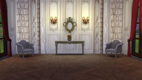 meinkatz creations french pack walls sims  downloads