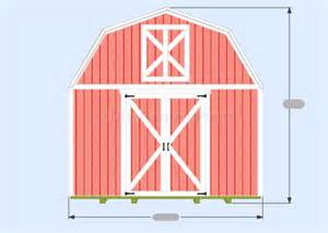 12x16 Gambrel Storage Shed Plans Free by Denny Free Access Free Shed Plans 12x16 Gambrel
