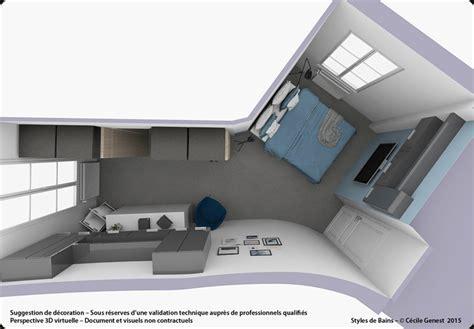 chambre commerce rennes 3d projet deco projets 3d de suites parentales