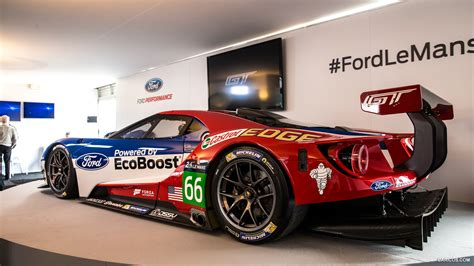 2018 Ford Gt Le Mans Race Car Side Hd Wallpaper 20