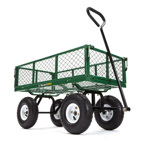 best garden cart best lawn cart reviews of 2018 at topproducts