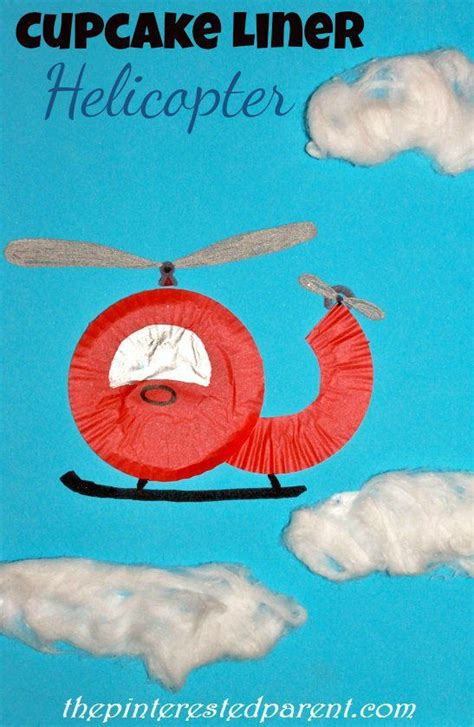 cupcake liner helicopter craft montessori inspired 683 | a2980580e7af28900d7fad5a473c3eb4