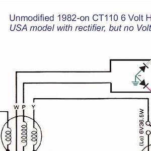 Honda Ct110 Charging Circuit Modifications