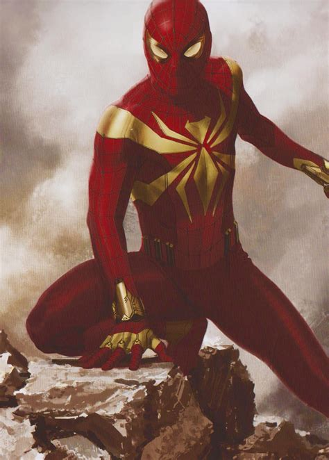 iron spider character spider man movies wiki fandom