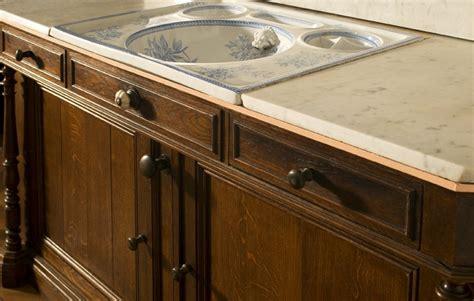 meuble ancien salle de bains meuble retro salle de bain