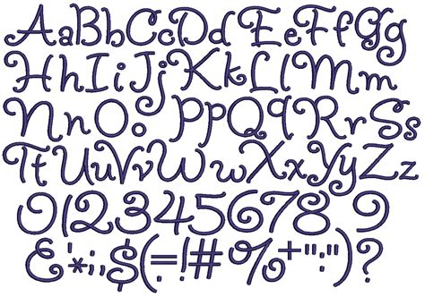 alphabet   fonts characters included