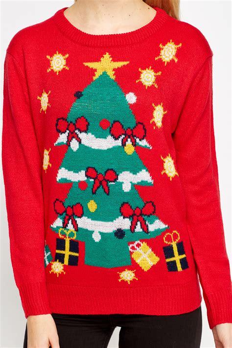 christmas tree jumper just 163 5