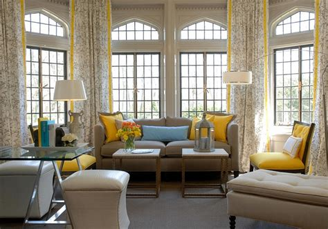 Blue Yellow And Beige Living Room by 20 Yellow Living Room Ideas Trendy Modern Inspirations