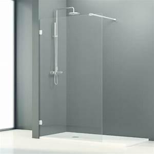 Vitre Pour Douche : panneaux fixes en verre pour baignoire et douche fixes ~ Premium-room.com Idées de Décoration