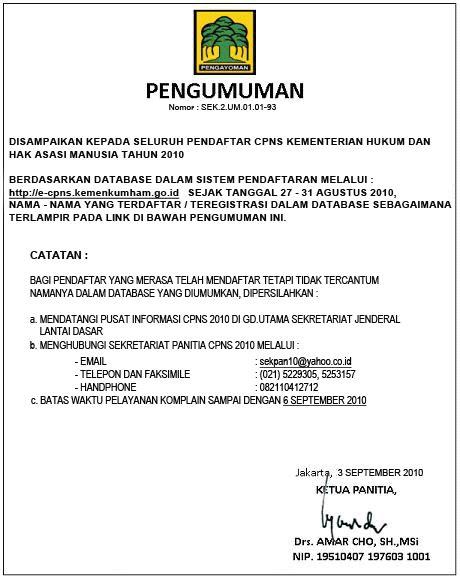 Contoh Surat Lamaran Cpns Kejaksaan 2017 by Contoh Surat Lamaran Cpns Mahkamah Agung Contoh Yem