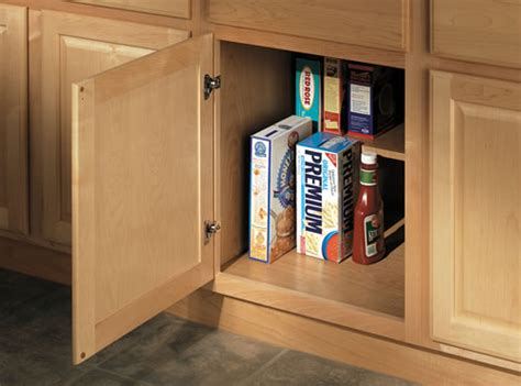 Half Cabinet by Base Cabinet Options Cabinetry Merillat