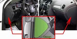 The Location Of The Fuses In The Passenger Compartment  Audi A4  S4  B8  8k  2008