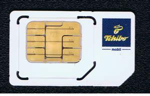 Prepaid Karte Tchibo