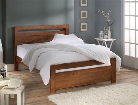 simple wood bed frame ideas homesfeed
