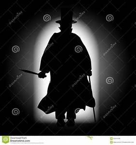 Jack The Ripper Silhouette Stock Illustration - Image ...