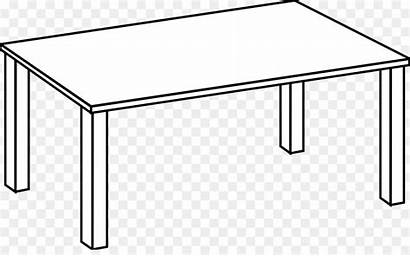 Table Rectangle Clipart Cartoon Square Transparent Webstockreview