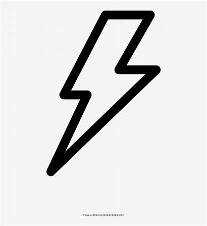 Lightning Bolt Coloring Graphics Vector Nicepng