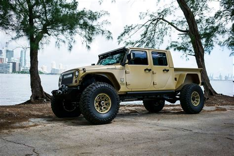 Jeep Jk Truck by Jeep Truck Jk Crew Conversion Driveables Jeep