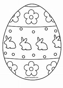 Monochrome clipart easter egg - Pencil and in color ...